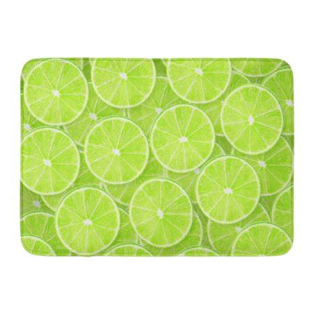 Lime Green Doormat by Kdagr Green Abstract Of Lime Sliced Pieces Citrus Color