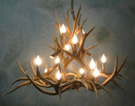 Deer Antler Chandelier For Sale L Deer Horn Chandelier With Authentic Look For Your Lighting Need Tenchicha