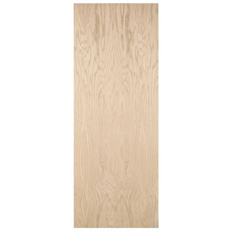 Interior Hollow Doors Shop Reliabilt Flush Hollow Oak Slab Interior Door