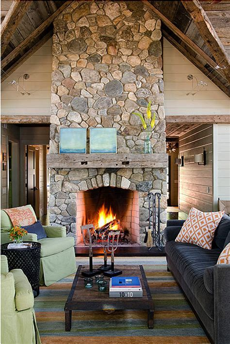 Rustic Lake House   Home Bunch Interior Design Ideas