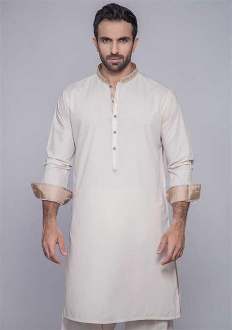 kurta pattern catalogue for men s premium embroidered kurta for men s by amir adnan pk vogue