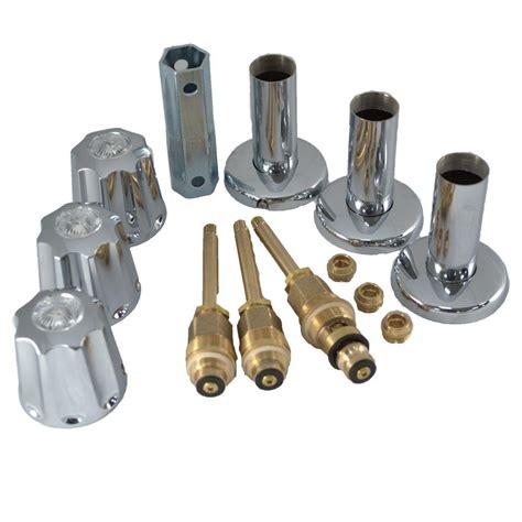 gerber bathtub faucet repair partsmasterpro tub and shower rebuild kit for gerber 58531