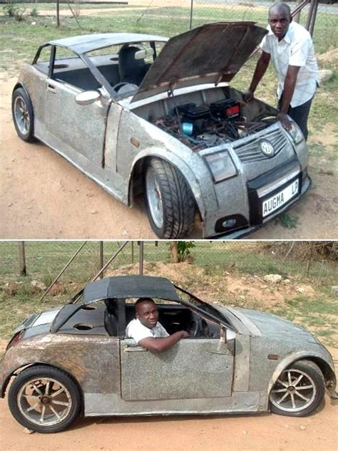 Handmade Car - these cars look but are not safe