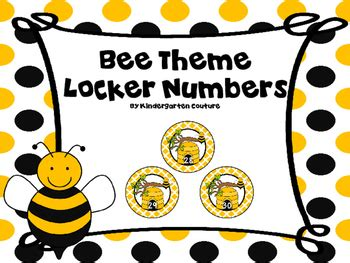 themes for quiz bee bee theme numbers 1 30 free by kindergarten couture tpt