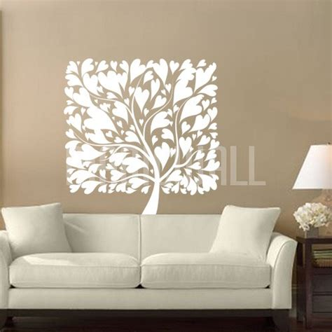 square wall stickers wall decals canada wall stickers square tree