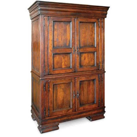 Bedroom Armoire Solid Wood Royalty Solid Wood Armoire Dresser Zin Home