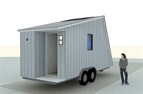 Michael Janzen S Aerodynamic Tiny House Design