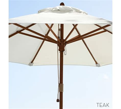 Pottery Barn Patio Umbrella Market Umbrella Solid Pottery Barn