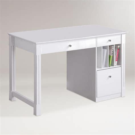 world market white desk white wood clara desk world market