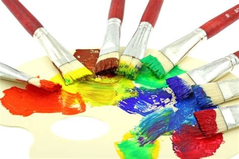 Paint With A Brush 01 Hd Pictures Free Stock Photos In