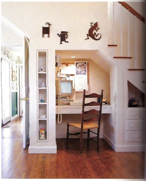 39 Best Images About Desk Under Staircase On Pinterest | 19 best images about under the stairs on pinterest shelf