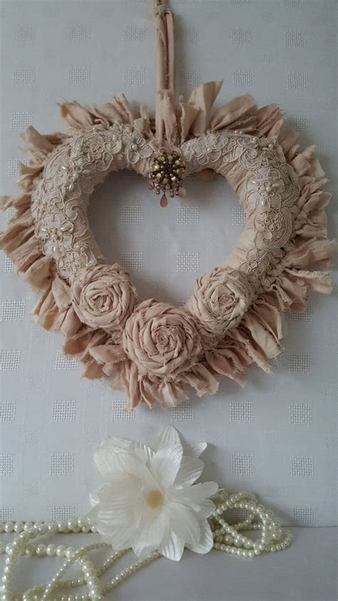 Vintage Decorations Etsy - 25 best ideas about shabby chic wreath on