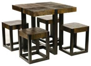 Square Kitchen Tables For Small Spaces - square narrow dining room table dining room tables round modern sets glass