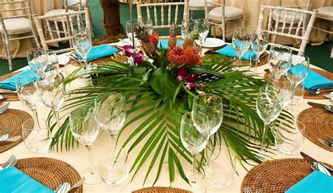 christmas in hawaii themed party tropical table decorations pictures and images of ideas designs themed
