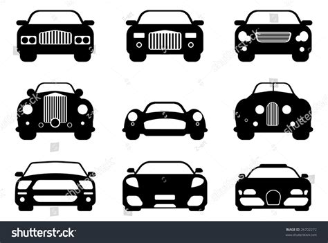 car layout vector luxury retro sport car collection easy stock vector