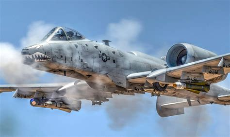 A-10 Ground Attack Aircraft In Action: Strafing Runs ... A 10 Warthog Pictures To Print Navy
