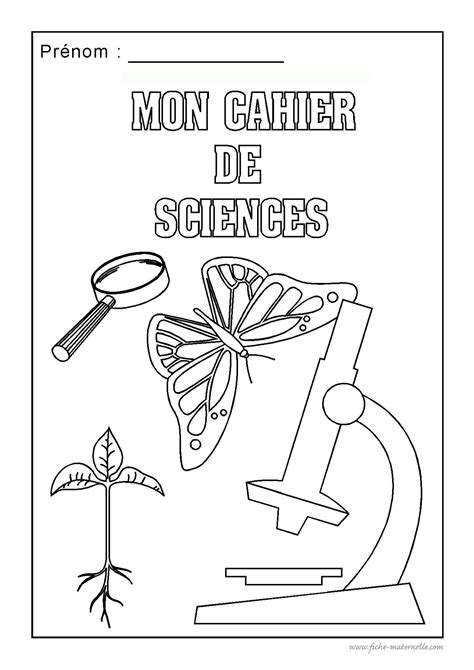 Page de garde | pages de garde | Cahiers de sciences