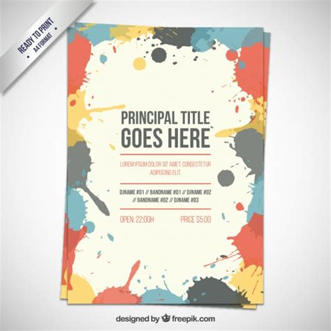 flyer templates free flyer vectors photos and psd files free
