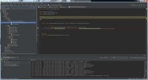 android studio project layout android studio ide layout changed after upgrade to 1 5
