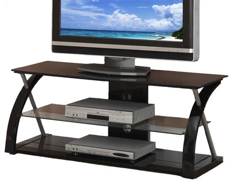 braden tv stand modern entertainment centers and tv stands black glass metal dynamic entertainment center tv stand