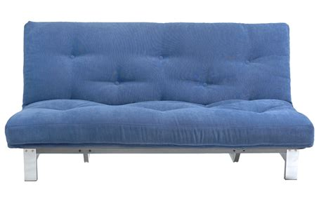 The Futon Co by Urbane 3 Seat Clic Clac Futon Sofa Bed