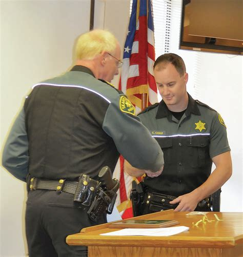 Skagit County Sheriff S Office by Sheriff S Office Honors Contributions To Enforcement