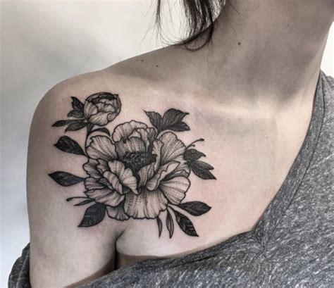 peonie tattoo 43 peony tattoos design for shoulder