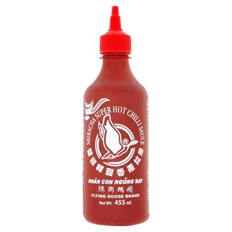 Sriracha Chilli Sauce flying goose sriracha chilli sauce 455ml from ocado