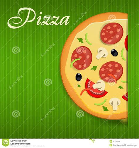 menu design eps file pizza menu template vector illustration stock photo