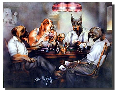 dogs playing poker poster animal posters dog posters