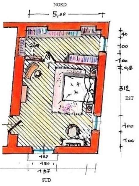 planimetria da letto matrimoniale con cabina armadio idea di progetto