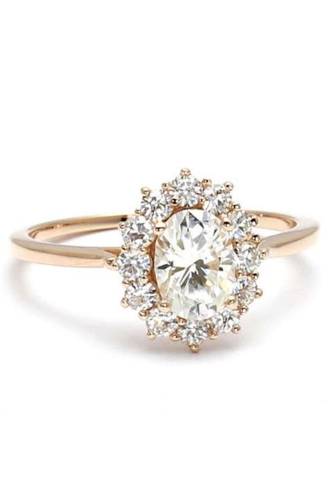 best 25 floral engagement ring ideas on