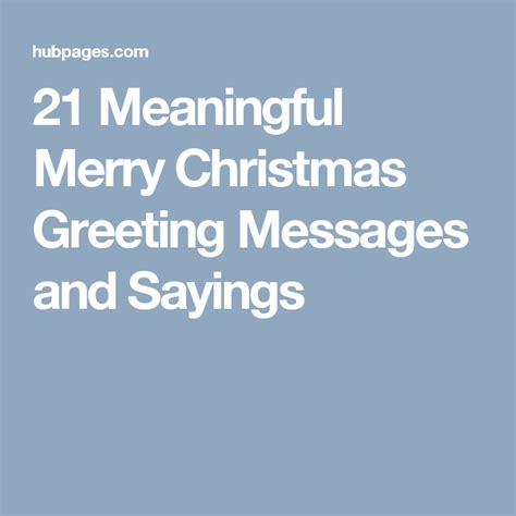 meaningful merry christmas messages  sayings