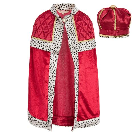 design dress up dress up by design boys red king with crown dress up