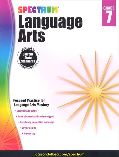 theme for language art show 2015 spectrum language arts 2015 grade 7 058379 details