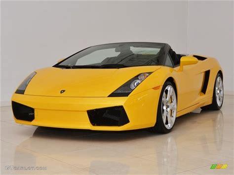Lamborghini Gallardo Superleggera Yellow Giallo Midas Yellow 2008 Lamborghini Gallardo Spyder E