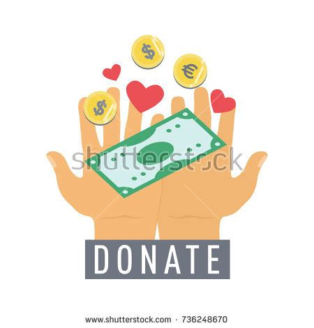 Donate Charity For Free With A Simple Click On Clicknow by Contribute Stock Images Royalty Free Images Vectors