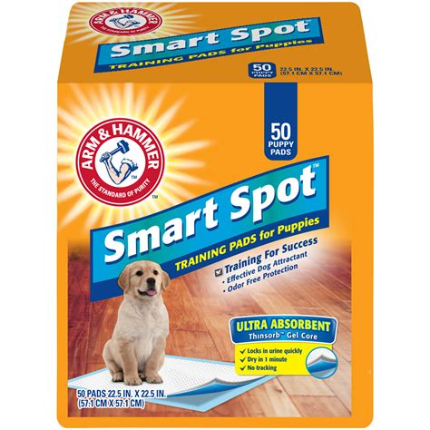 arm and hammer puppy pads arm hammer ultra absorbent puppy pads 50 ct bag pet supplies supplies