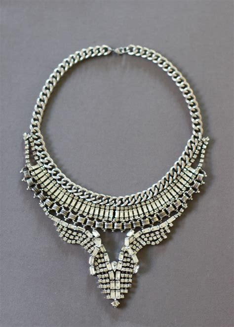 Statement Necklace diy vintage statement necklace honestly