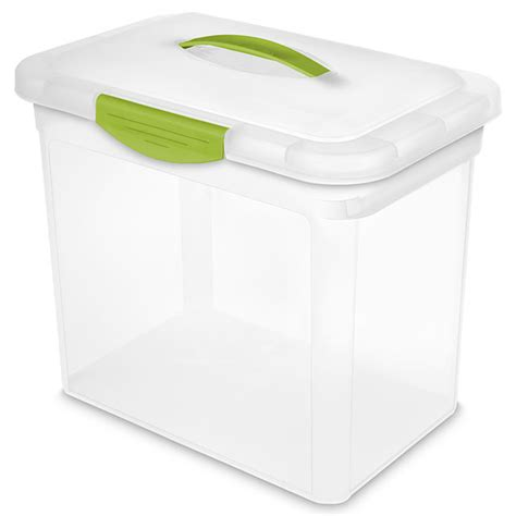 sterilite showoffs storage container sterilite large showoffs storage container set of 6