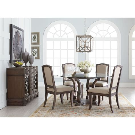 dining room groups standard furniture parliament round table dining room