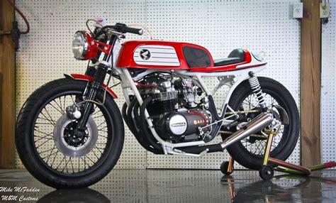 Honda Cafe Racer Cb550 Honda Cb550 Cafe Racer Way2speed