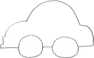 simple car template outline pictures of cars clipart best