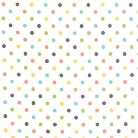 Sale Balon Polkadot Per Pack prairie polka dot multi white by corey yoder for moda 29005 11 752106213227