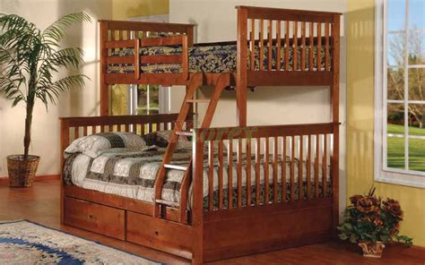 solid wood bunk beds twin over full adhara twin over full bunk bed with storage drawers xiorex