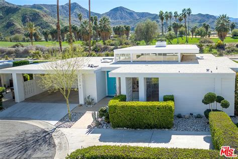 Springs Floor Plans Snag This Renovated 1960s Palm Springs Home With Pool For