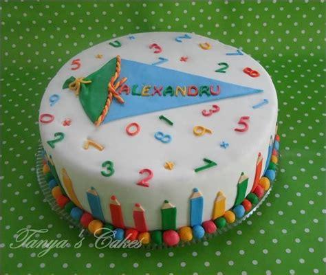 schulanfang torte die besten 17 ideen zu fondant kuchen kinder auf