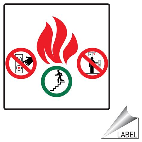 labelling logo use labelling logo use pefc in case of fire do not use elevator symbol label label
