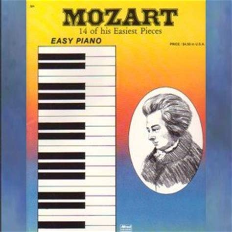 mozart biography easy mozart 14 of his easiest pieces easy piano