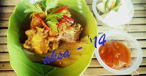 Minyak Kemiri Botolan resep ayam goreng jahe oleh saif aksa cookpad